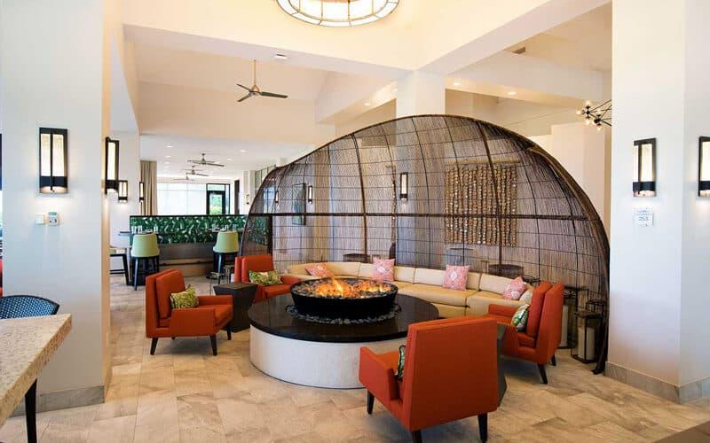 hilton marco island beach resort ff&e lobby